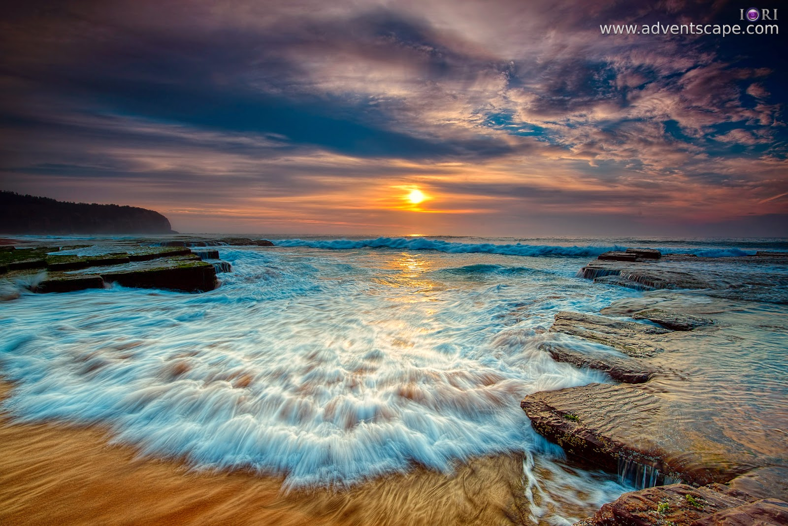 adventscape, Australia, Beach, coastline, dawn, landscape, nature photos, New South Whales, NSW, Philip Avellana, seascape, sunrise, turimetta, water, waves