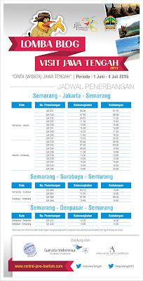 Lomba Utama Blog Visit Jawa Tengah 2015