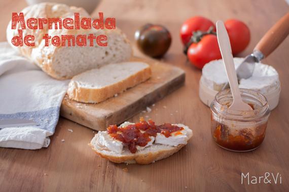 mermelada casera de tomate
