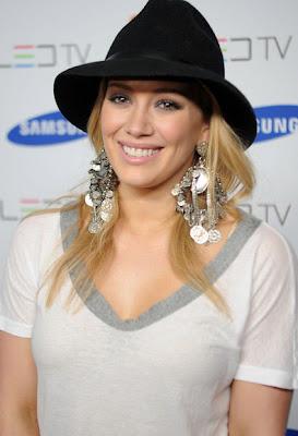 Hilary Duff Sterling Dangle Earrings