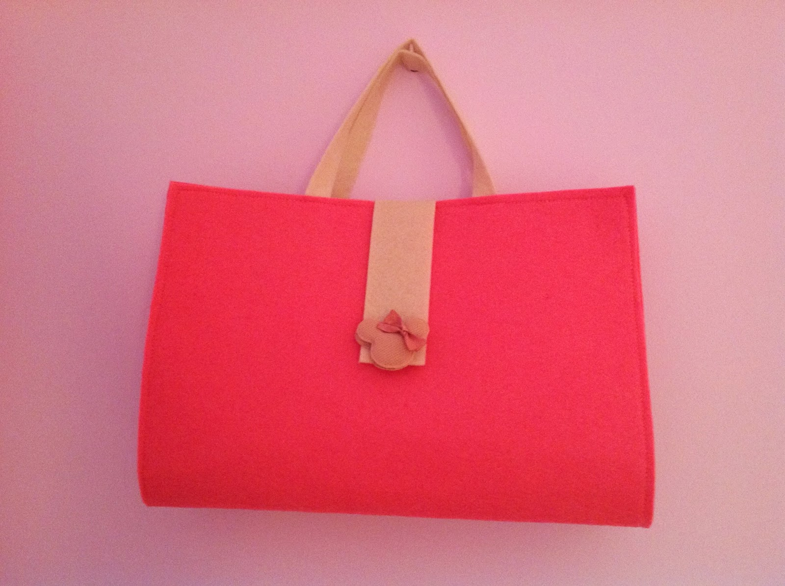 art bag, felt bag, handmade felt