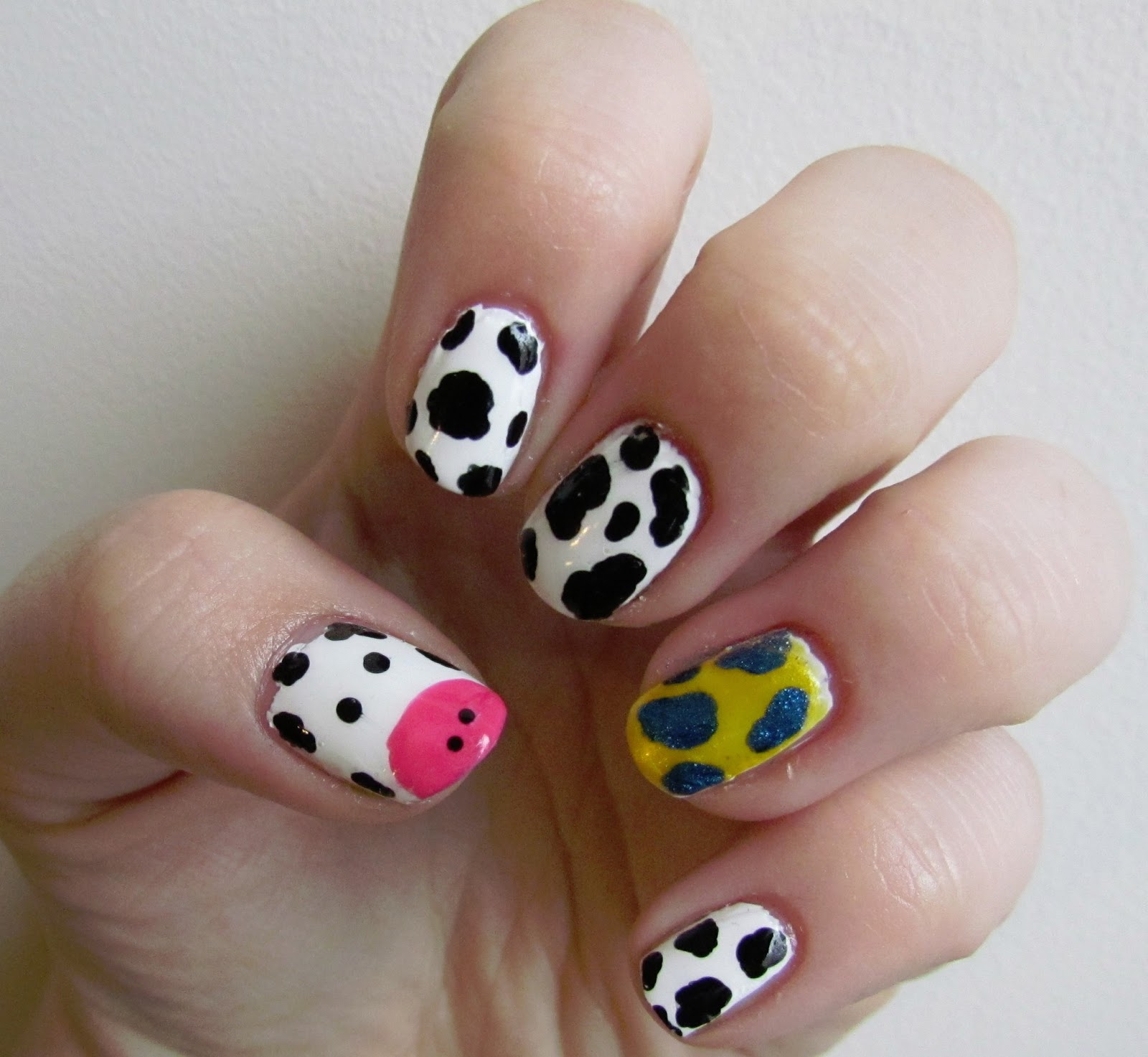 Karen Loves Nail Polish Notd Kansas Ffa Convention Cow Nails