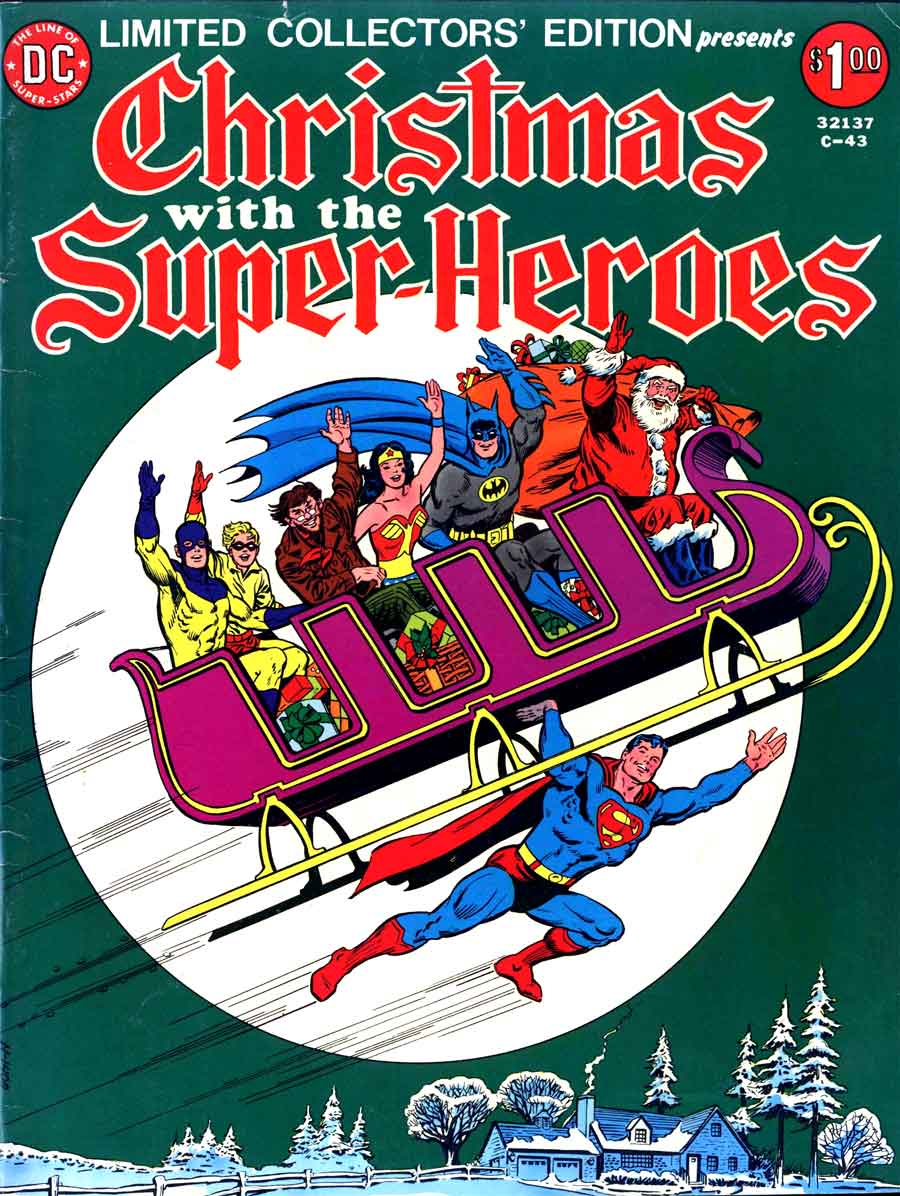 Limited Collectors Edition #C-43 / Christmas with the Super-heroes ...