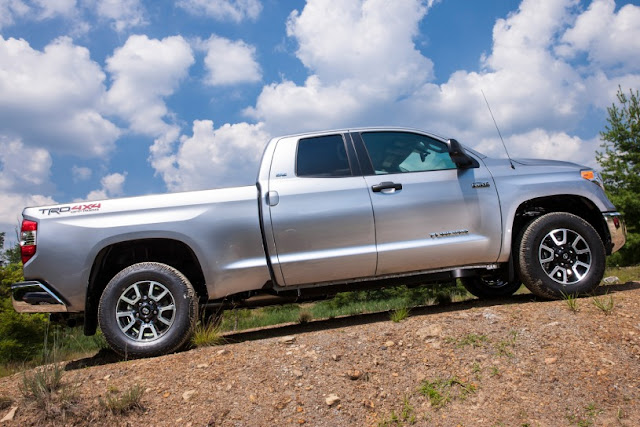 2015 New Toyota Tundra Adventure side view