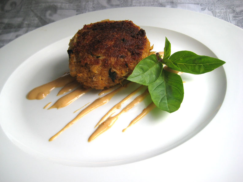Crab Cakes Made With Claw Meat
