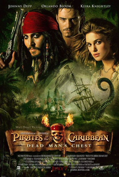 DVD Challenge #7: PIRATES OF THE CARIBBEAN: DEAD MAN'S CHEST