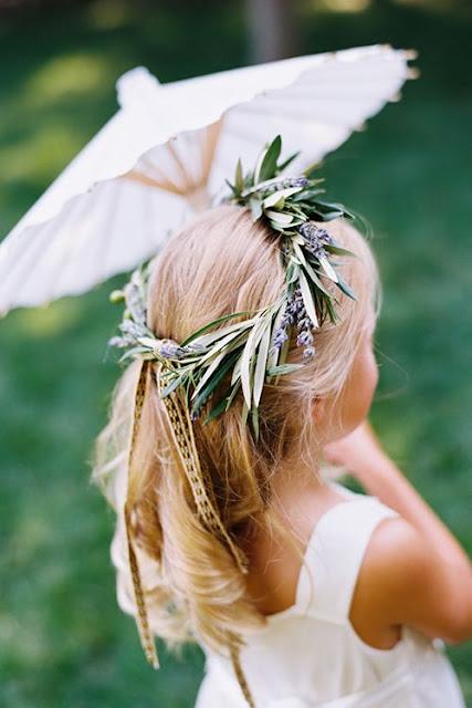 corona nina arras boda