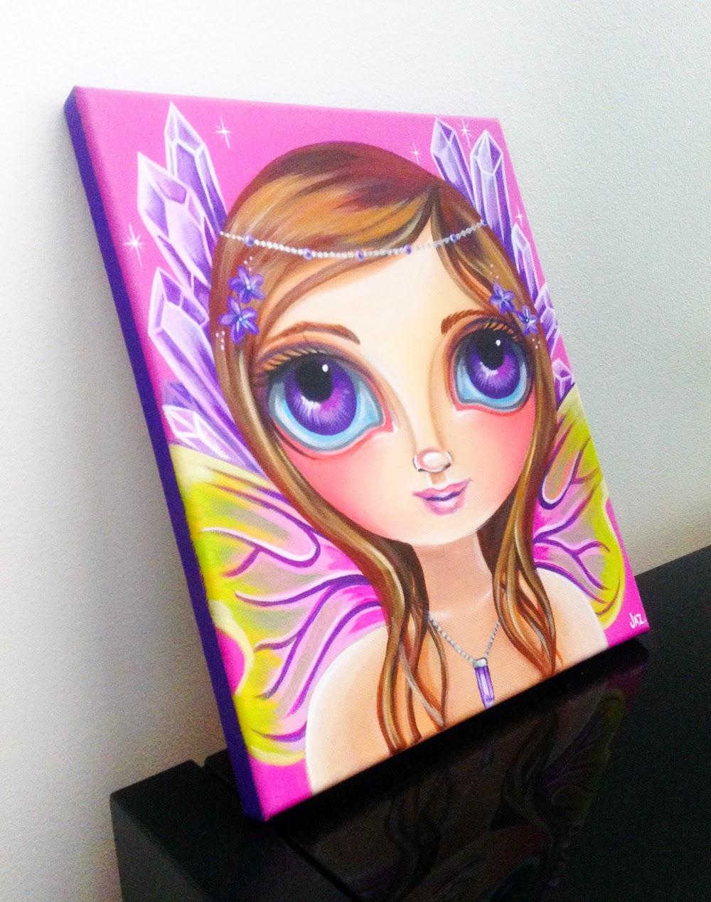 http://www.artbyjaz.com/amethyst-fairy-original-painting/