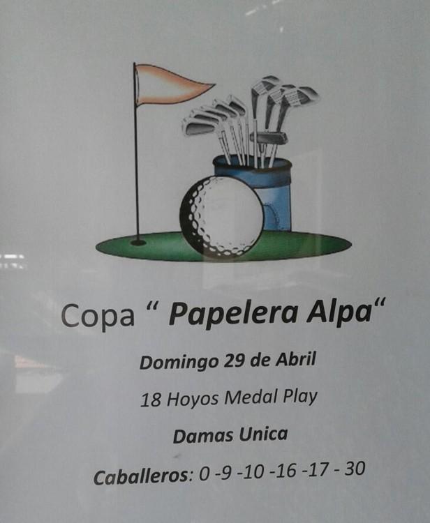 Torneo Papelera Alpa