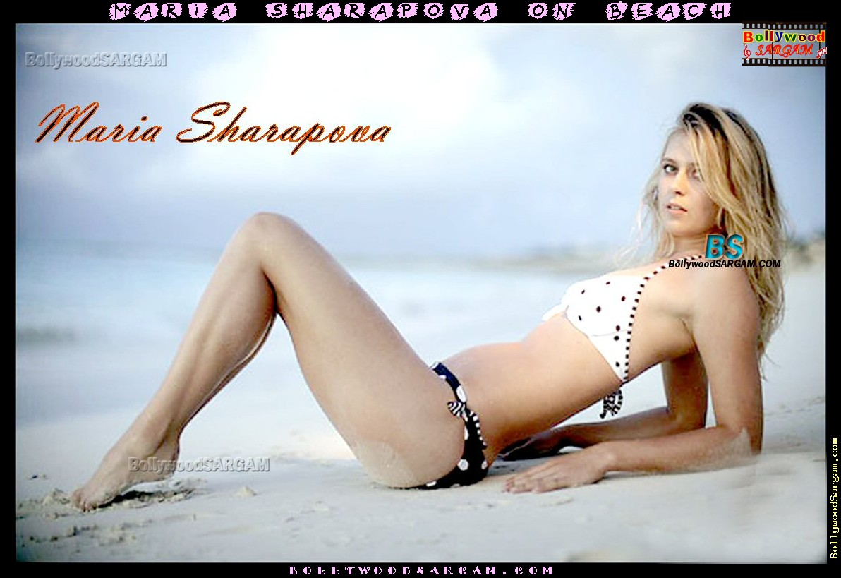 bikini wallpapers of maria sharapova