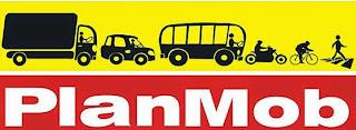 Logotipo Plano de Mobilidade Urbana ( Planmob )