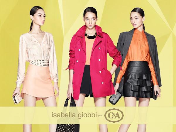 Isabella Giobbi traz seu lifestyle para a C&A Collection