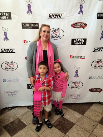 Breast Cancer Support from my sis and kids.