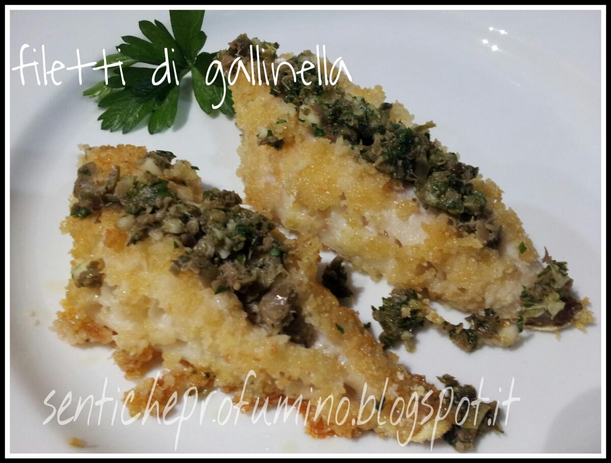 filetti di gallinella con cuore di capperi, ricetta di pesce ... - Come Cucinare Filetti Di Gallinella