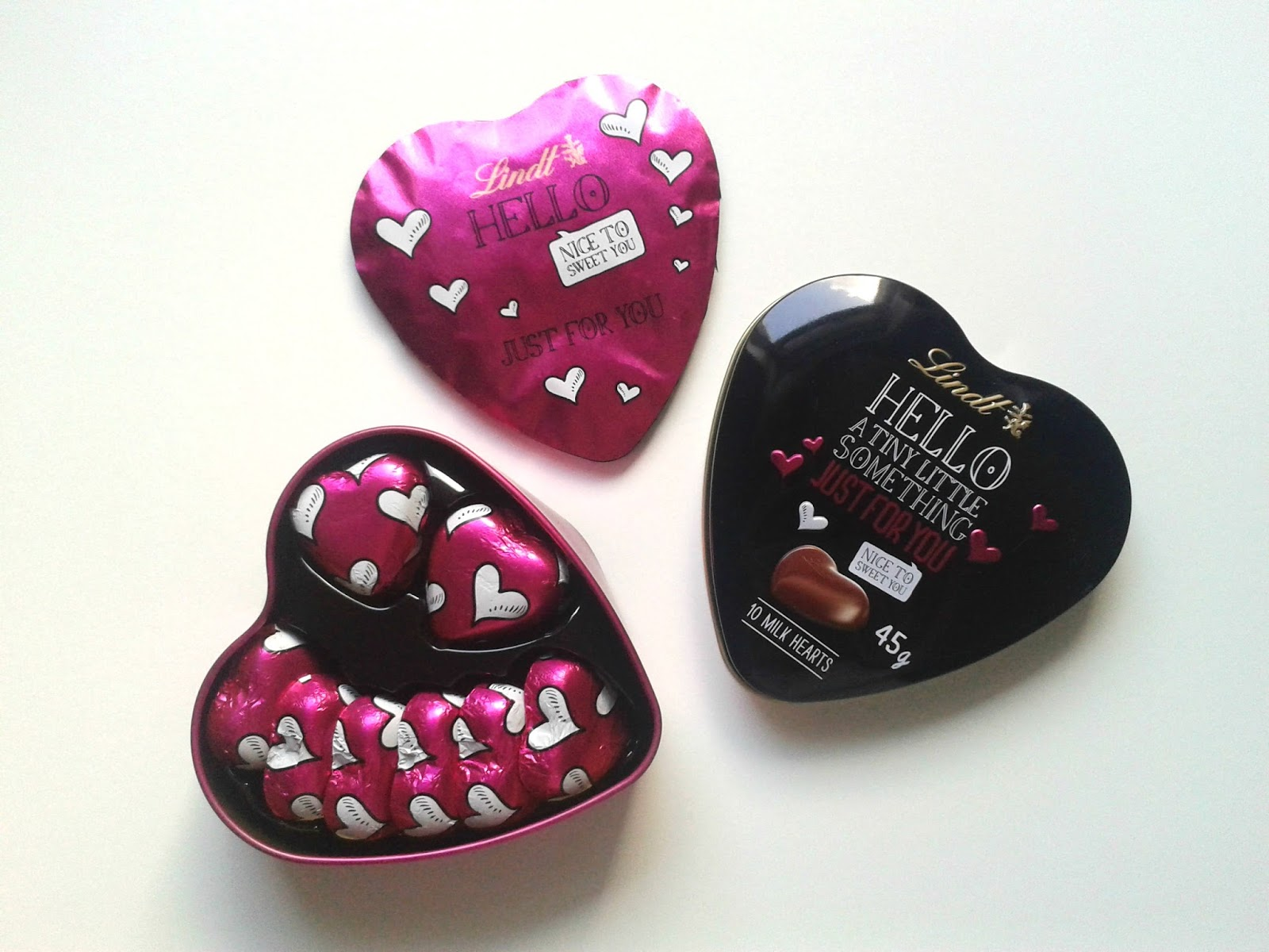 Lindt Hello Milk Hearts August Degustabox Review