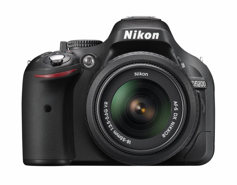 Nikon D5200 slr digital camera