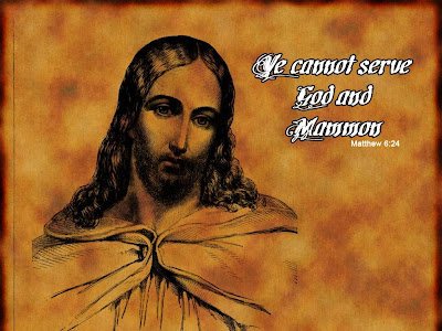 Christian-Wallpaper: We cannot serve God and Mammon , 1024 x768 ...