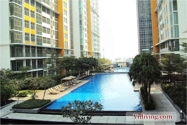 The Vista condo for rent 2 bedrooms great decor and pool view Dist 2
