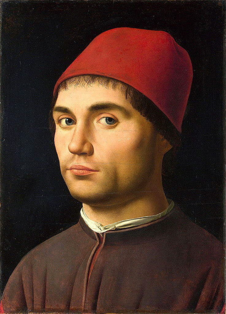 Antonello da Messina Portrait of a Man Antonello da Messina Portrait of a Man 1475 1476