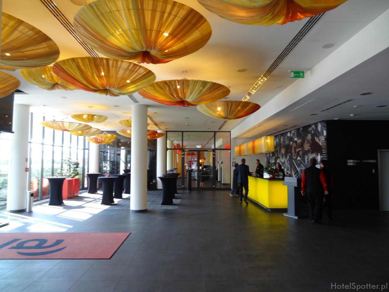 angelo Hotel Katowice - recepcja