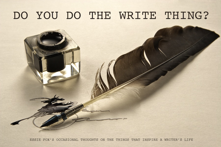 DO YOU DO THE WRITE THING?
