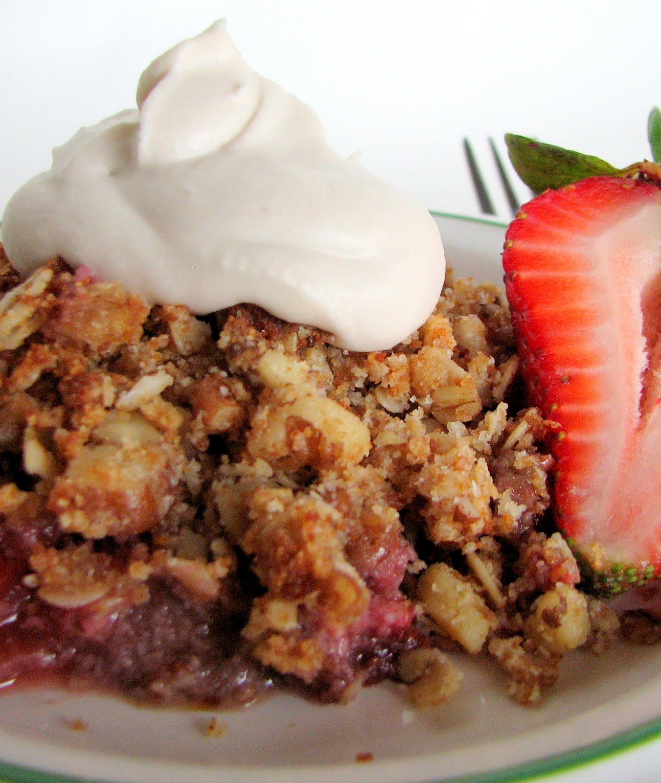 Gluten Free (and mostly Dairy Free) Real Food Recipes: Strawberry