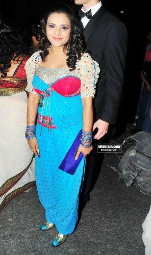 Celebrities At 58th Idea Filmfare Awards South 2011