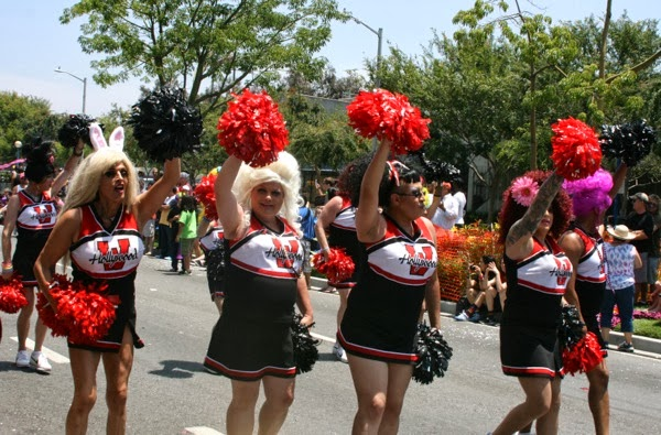 West Hollywood gay Pride Parade June 2013