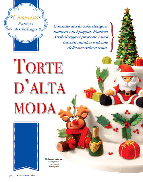 Revista Christmas Cake