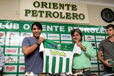 Oriente Petrolero - Keko Álvarez - Tabaré Silva - DaleOoo.com web del Club Oriente Petrolero