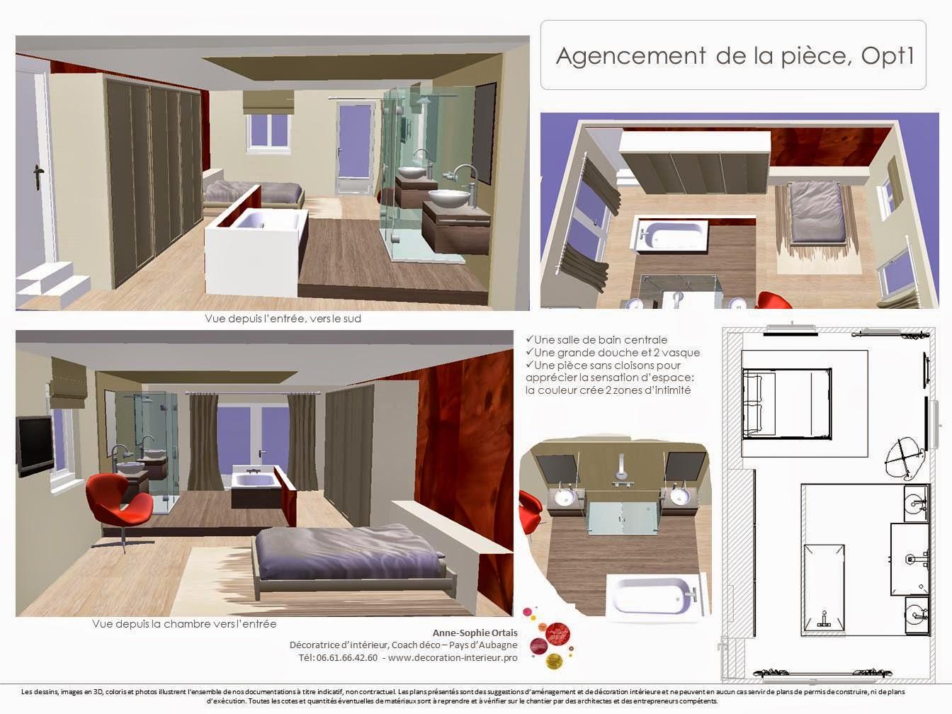 Agence aso concept anne sophie ortais uns suite for Plan suite parentale 25m2