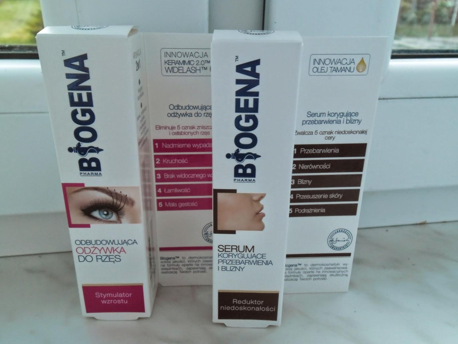 Odżywka i serum BIOGENA, czyli kontynuacja recenzji