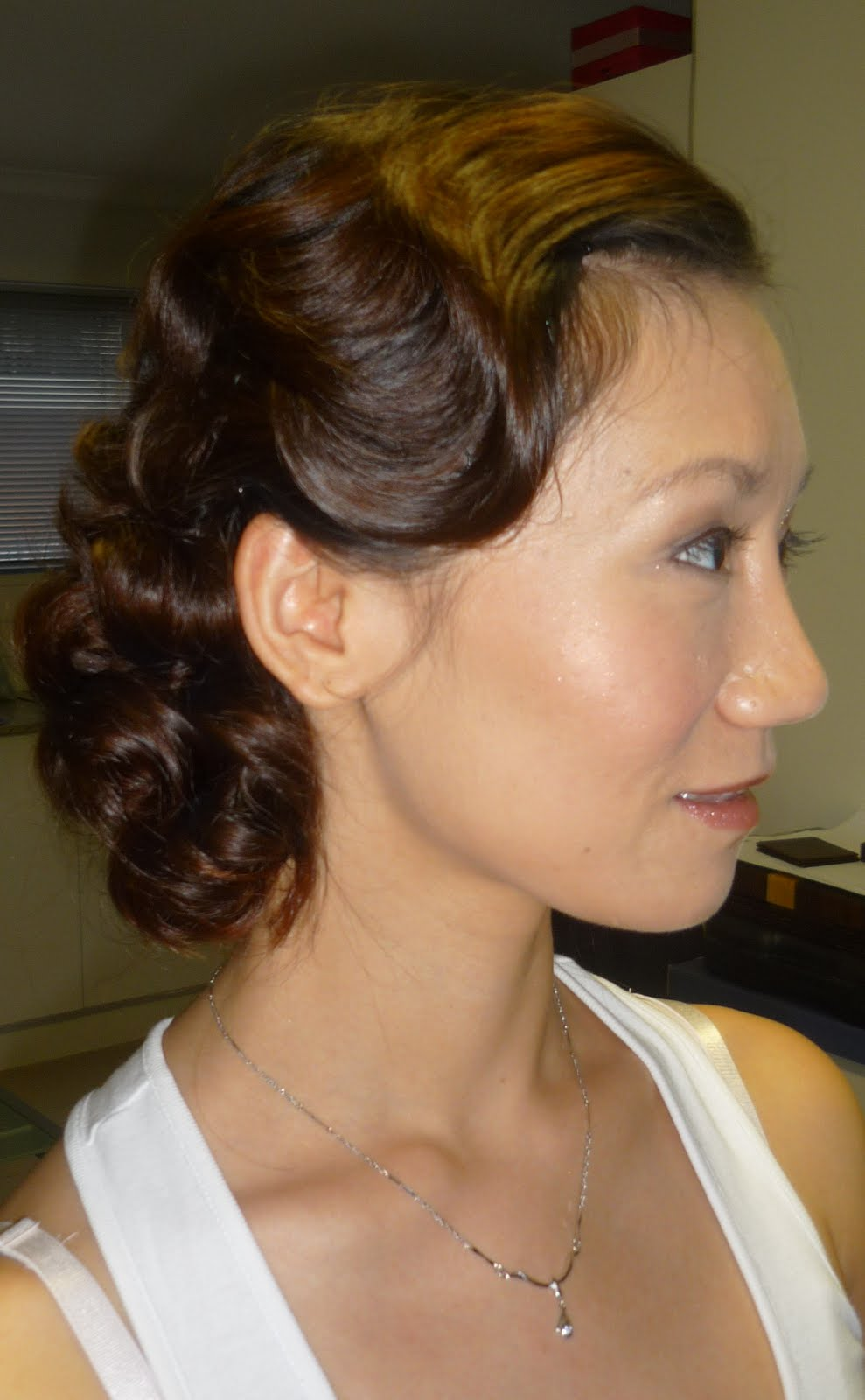 Celebrity Vintage Hairstyle Picture ~ Prom Hairstyles