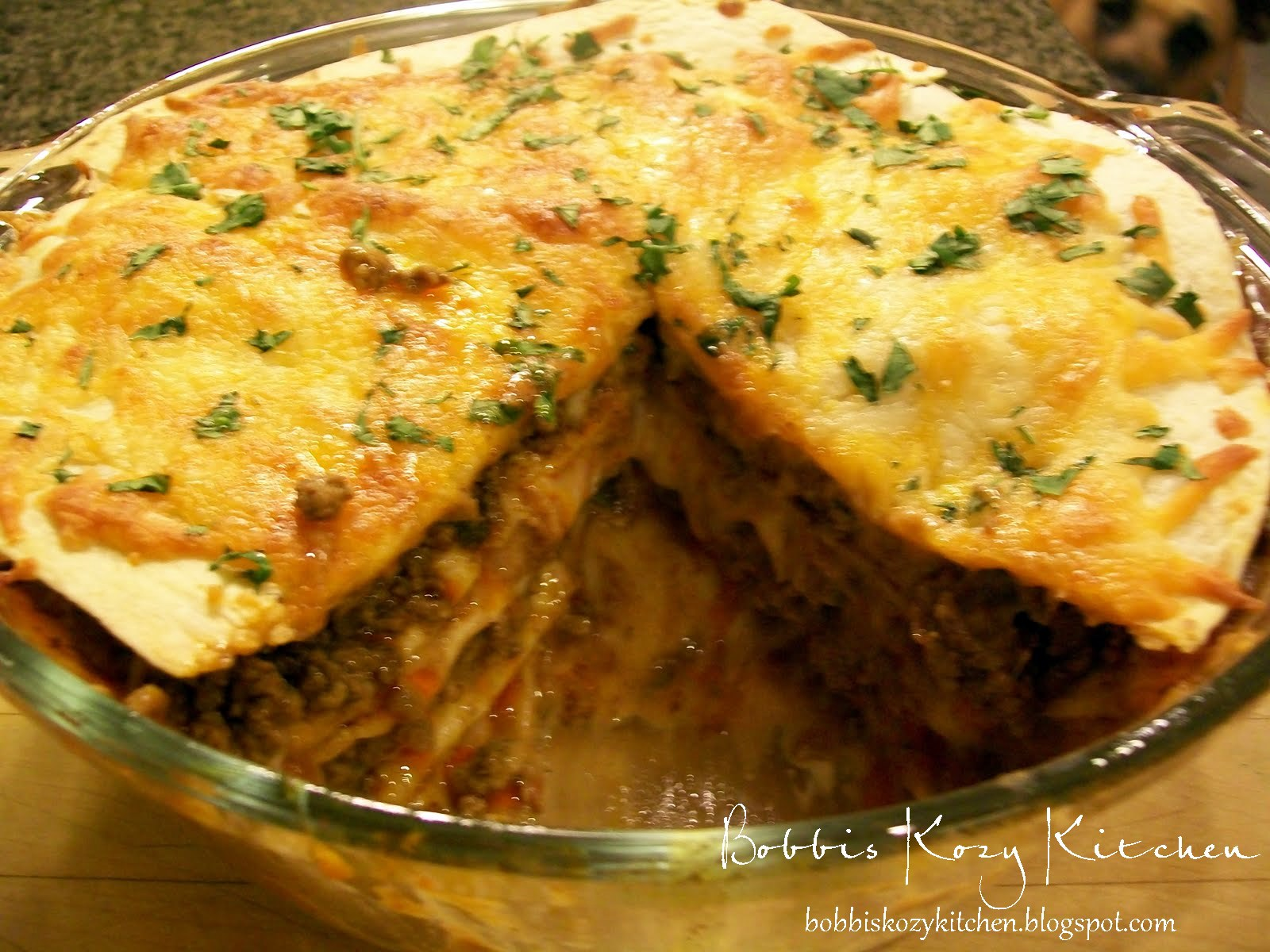 Mexican Lasagna | Bobbi's Kozy Kitchen