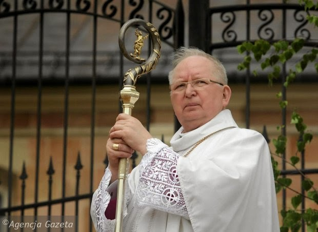 Kielce Ryczan biskup praca media dziennikarze dziennikarki ideologia zło grzech władza