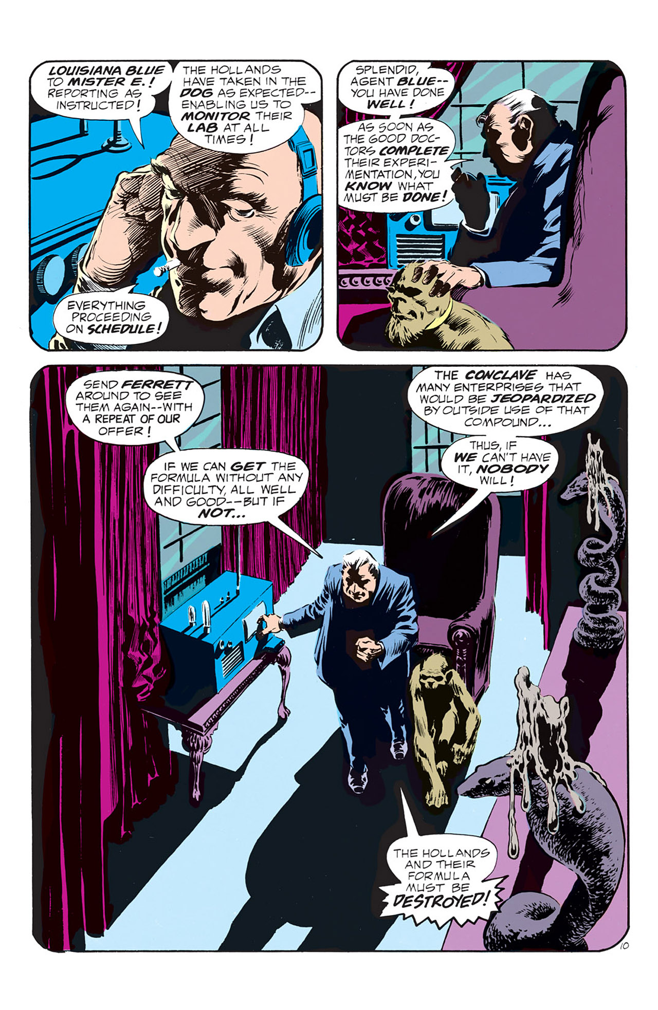Swamp Thing (1972) Issue #1 #1 - English 11