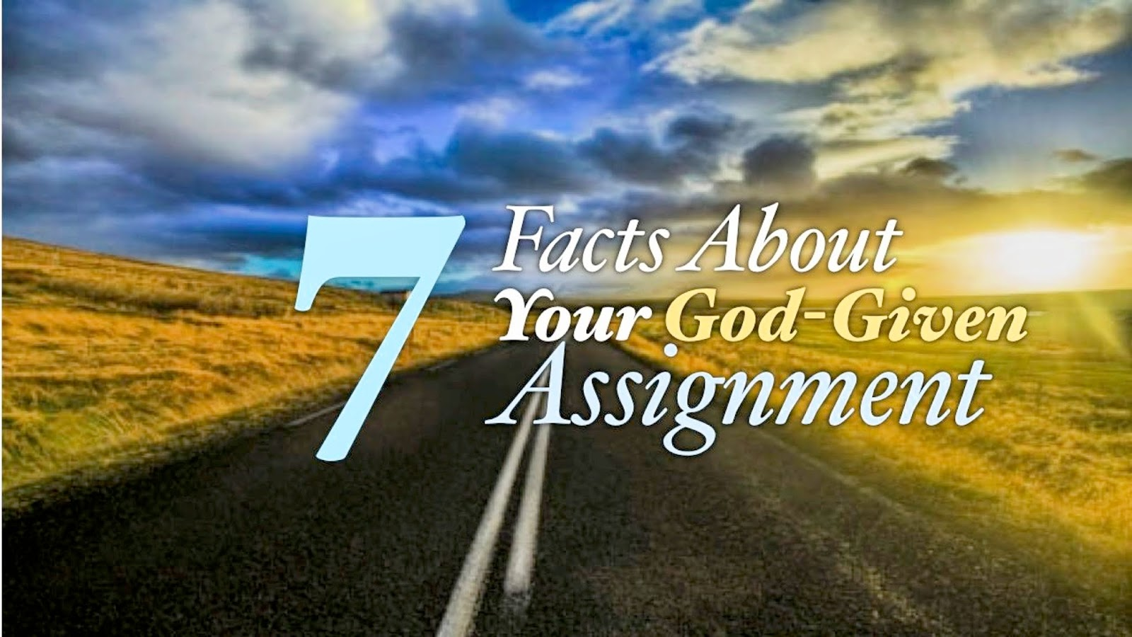 How do i know my assignment from god