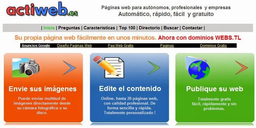 A su vez Actiweb revisa y publica las páginas que han sido aprobadas para que sean indexadas por los buscadores y las promociona si su contenido lo merece.