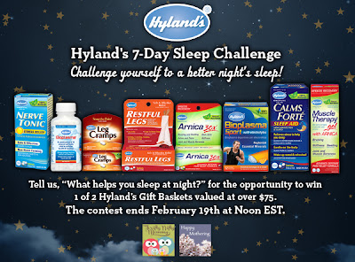 Hyland's 7-Day Sleep Challenge