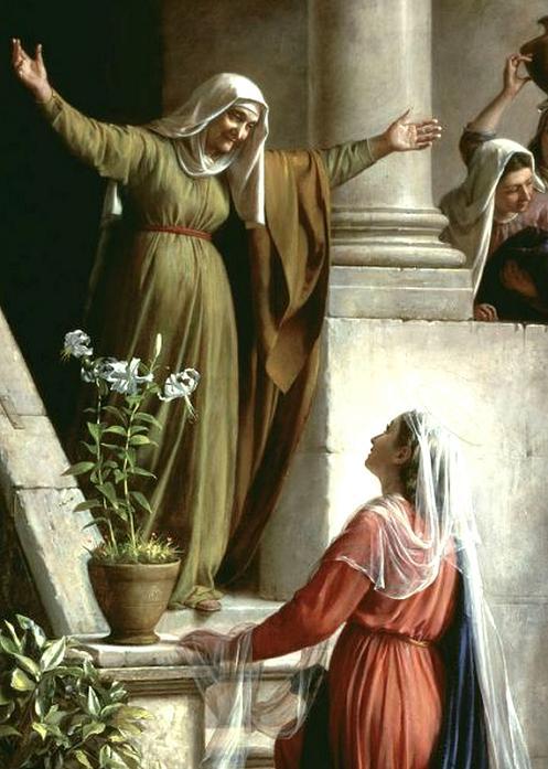 Ele é filho de Maria e eu sou filho de Isabel
