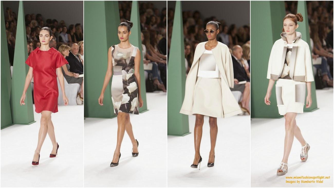 Mercedes-Benz Fashion Week New York: Carolina Herrera's Spring 2015 Collection
