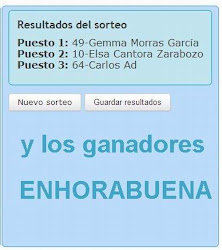 PREMIOS SORTEO EN FACEBOOK