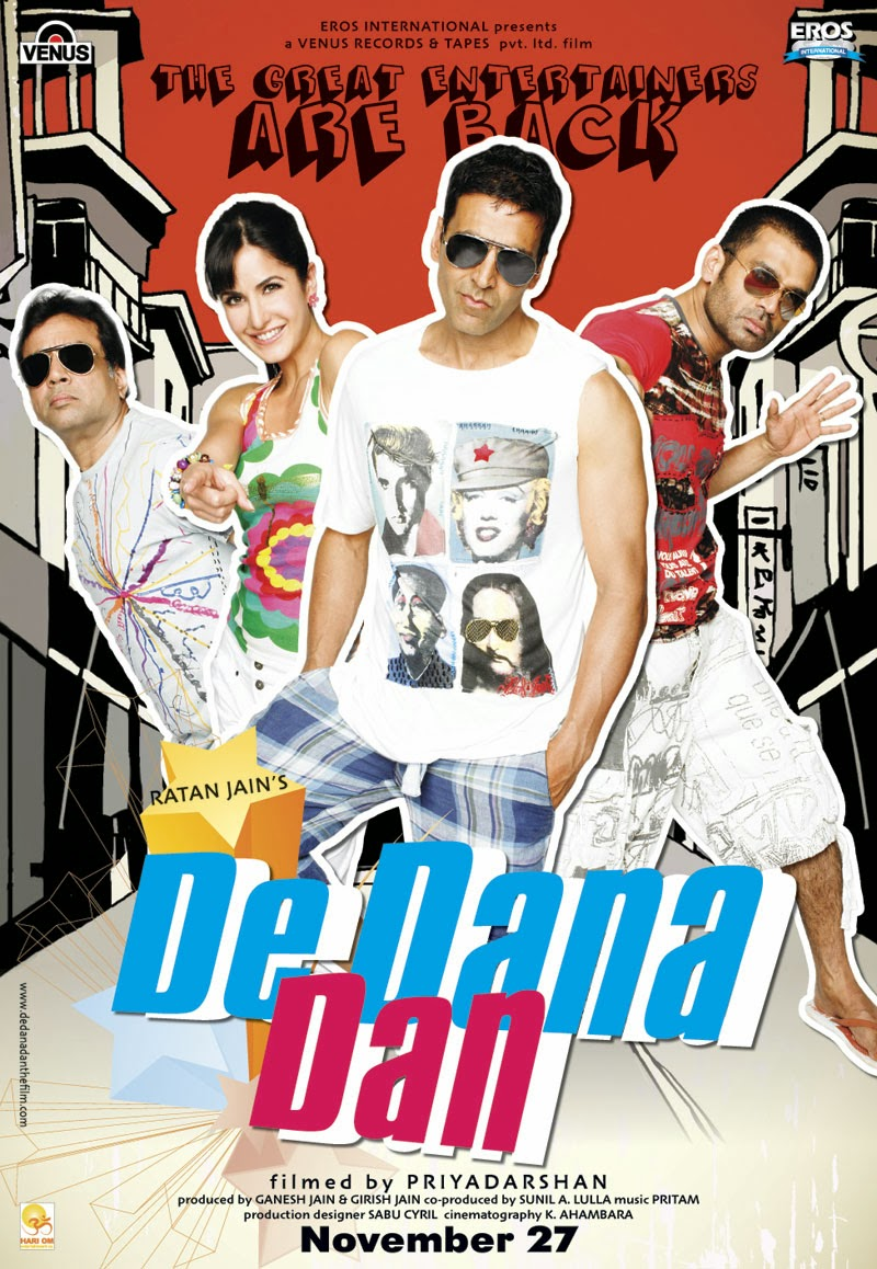 De Dana Dan 2009 Hindi Full Movie Watch Online