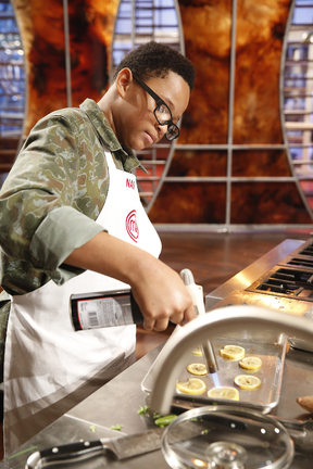 Nasir MasterChef Jr Cooking