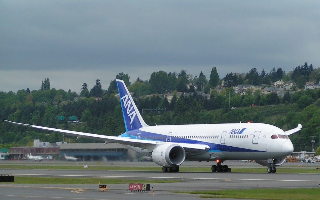 Boeing 787 Dreamliner Foto 2