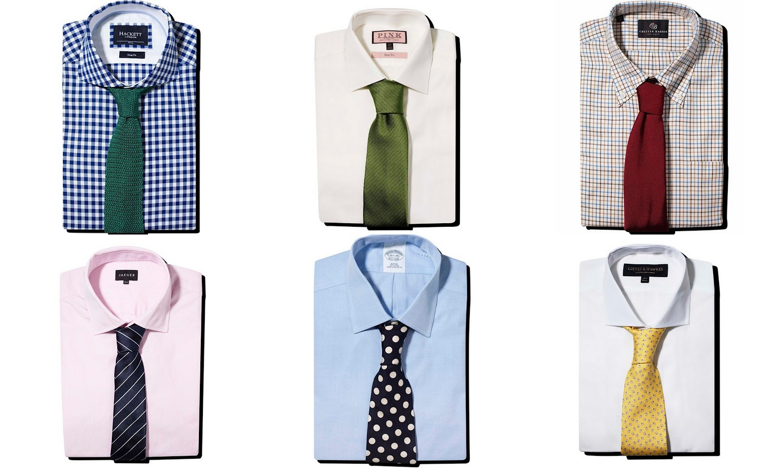 Artistique swagger july 2012 for Matching ties with shirts