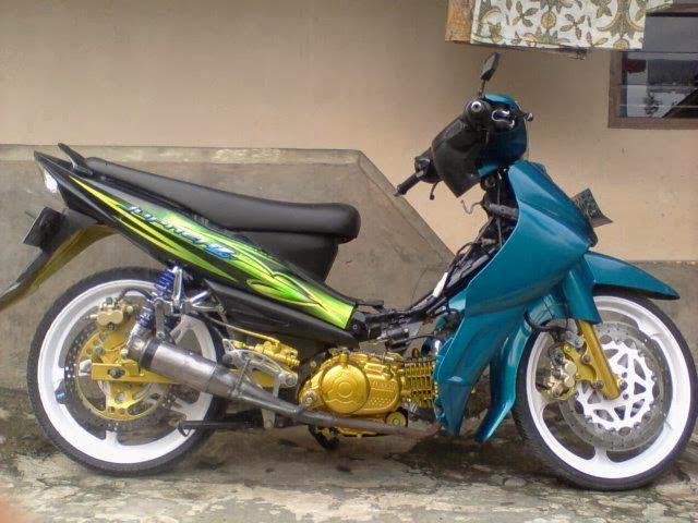 Foto-foto Modifikasi Yamaha Jupiter Z