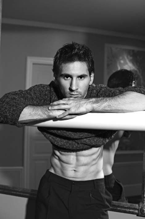 Footballer Lionel Andres Messi by Domenico Dolce