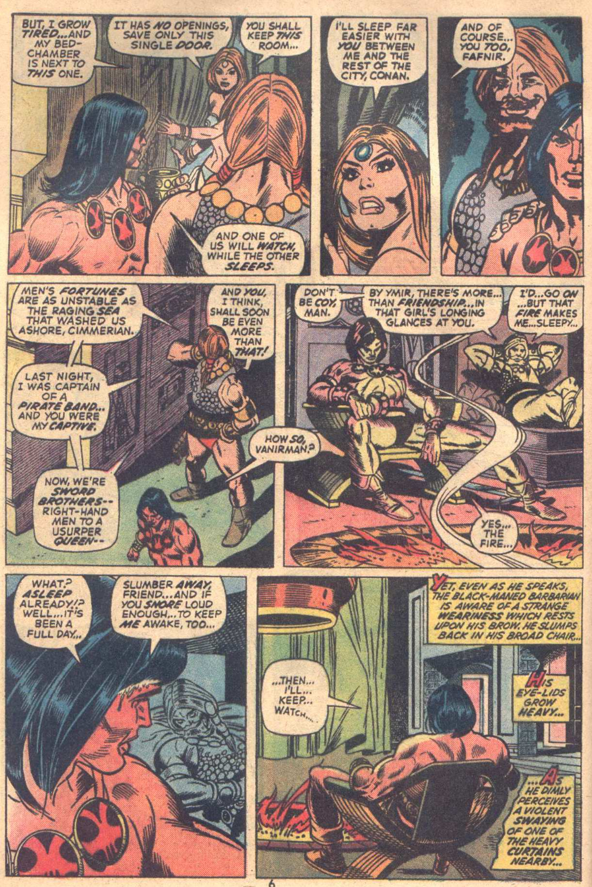 Conan the Barbarian (1970) Issue #18 #30 - English 6