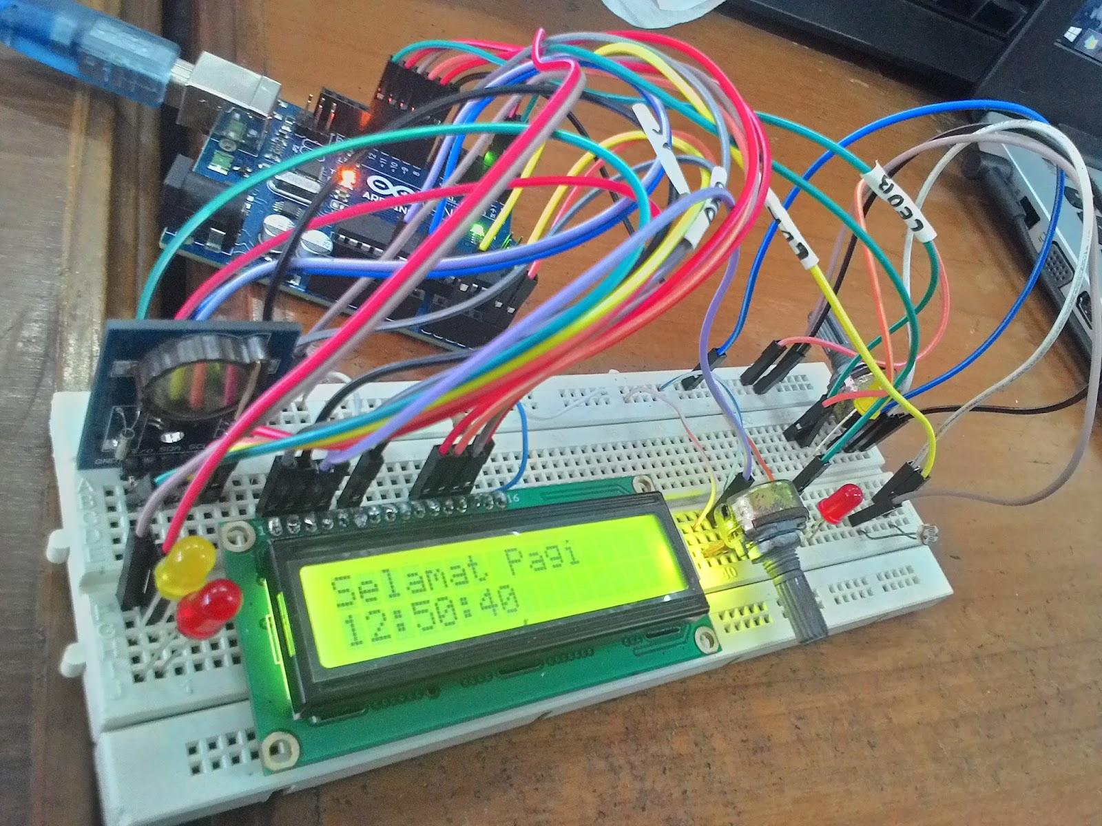 Arduino Project Led Menggunakan Rtc Ds1307 Dan Ldr Anak Minang